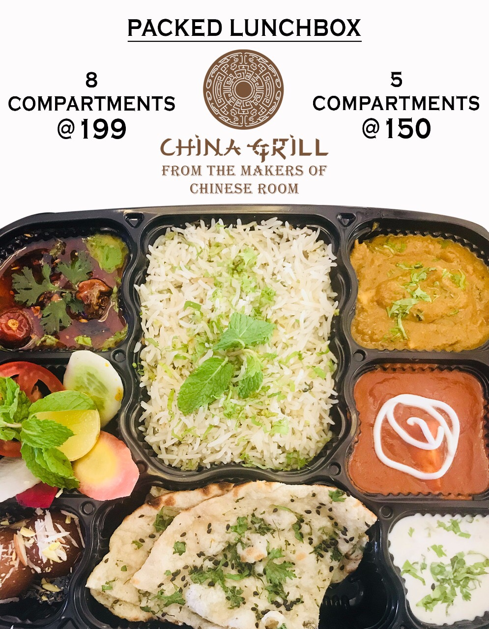 packed lunch dinner services china grill